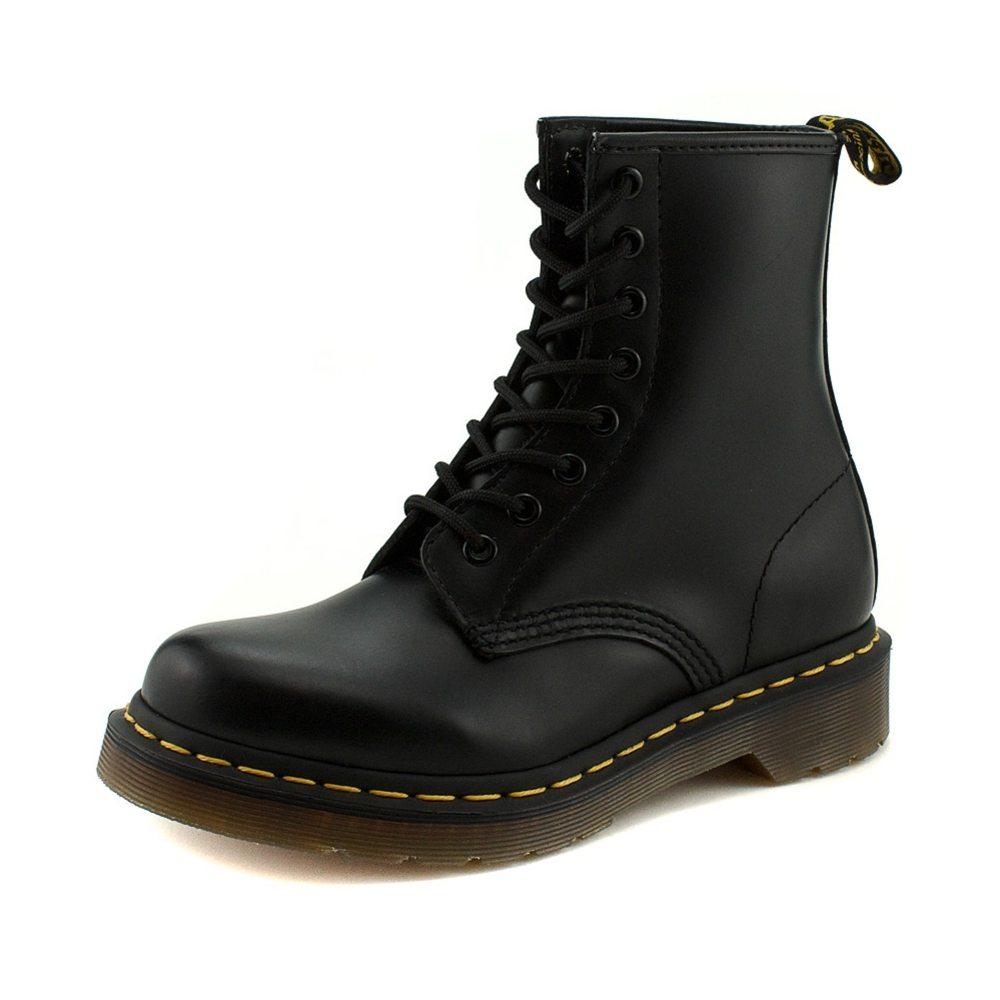 Dr Martens Matte Black Shoes