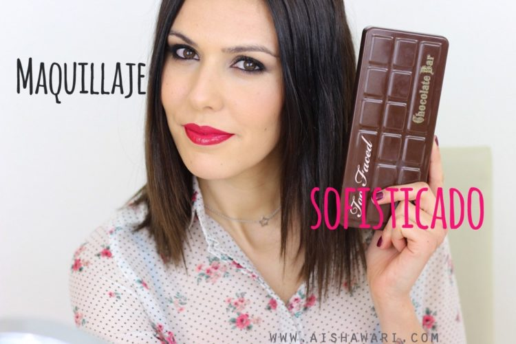 Chocolate Bar makeup tutorial