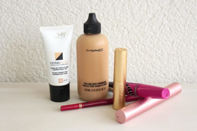 Maquillaje: productos inseparables