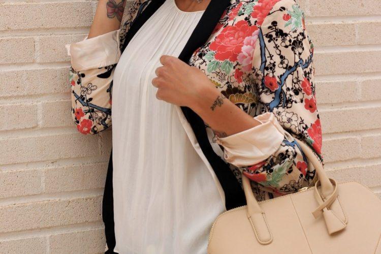 Outfit: Kimono floral
