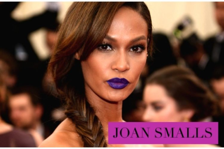 Maquillaje: labios morados
