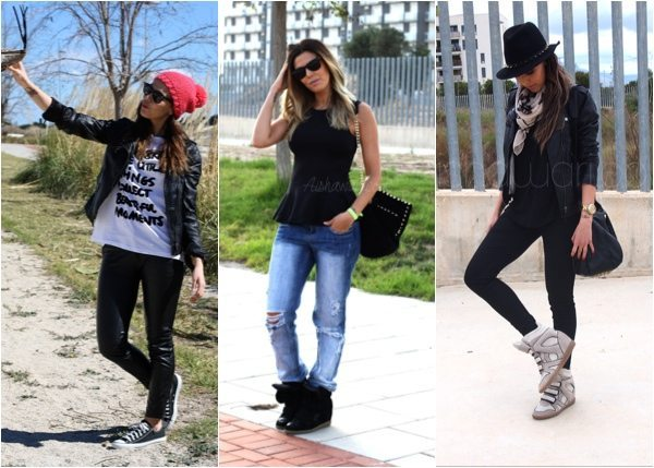 Outfits zapatillas aishawari