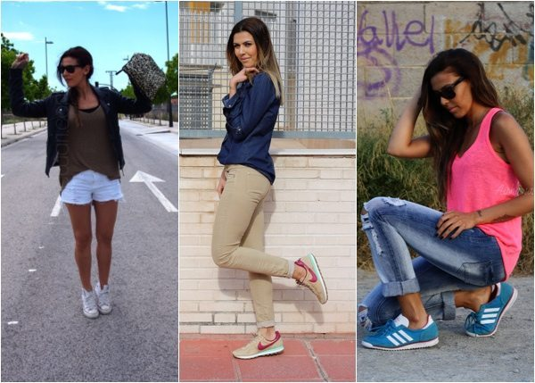 Outfits zapatillas