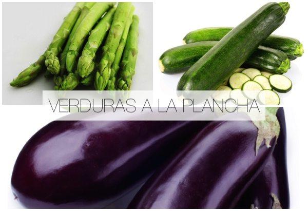 Verduras a la plancha