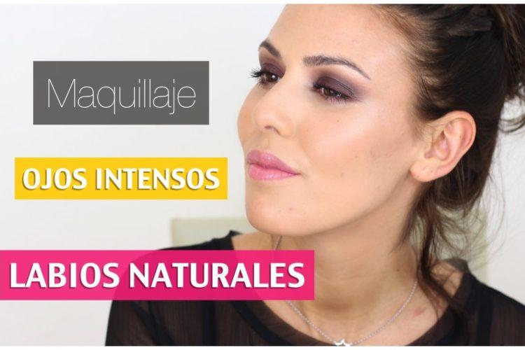 Maquillaje: ojos intensos y labios naturales