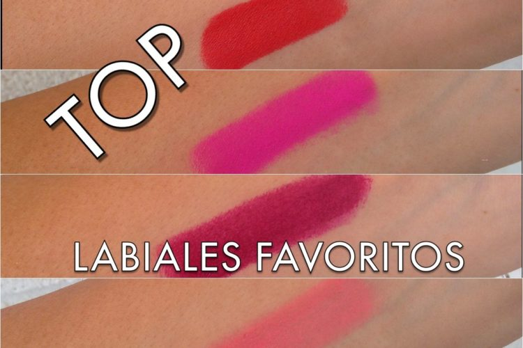 TOP labiales favoritos