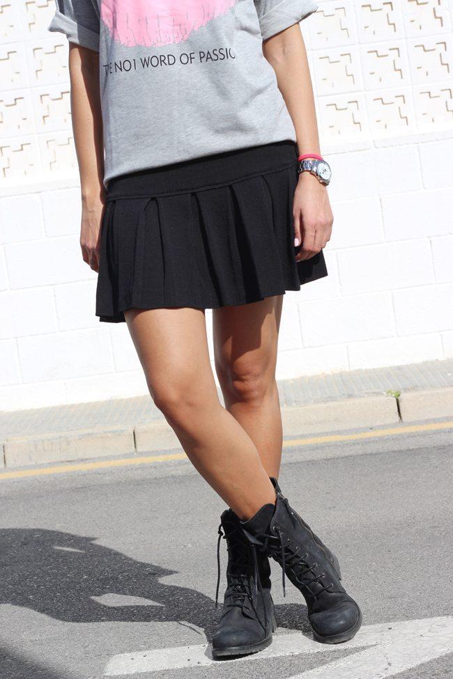 Botas Zara outfit
