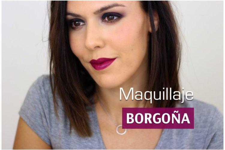 HOW TO: Maquillaje borgoña