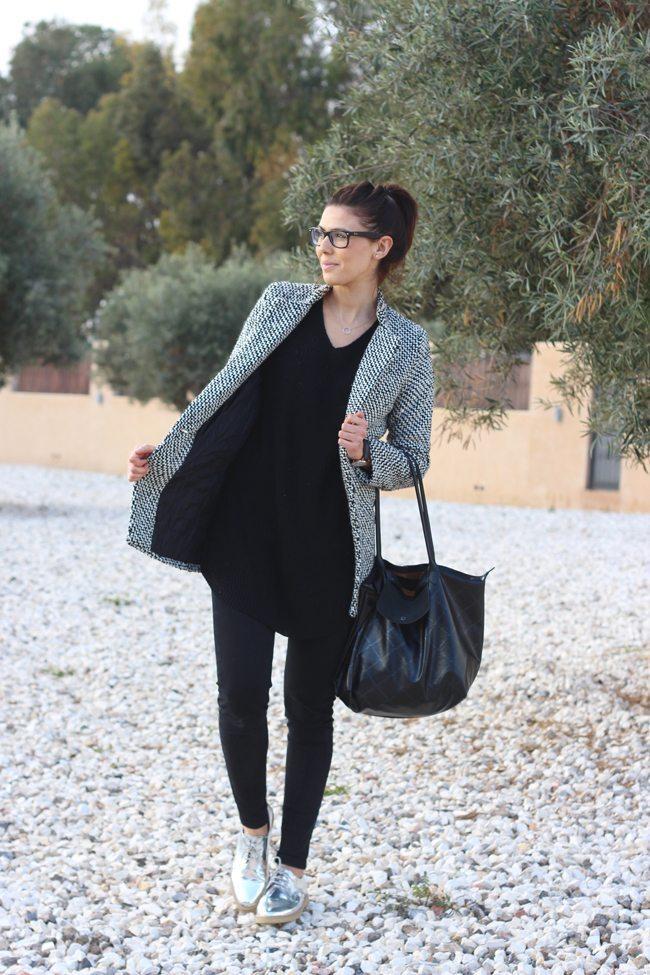 Outfit Blanco Y Negro - Aishawari.com