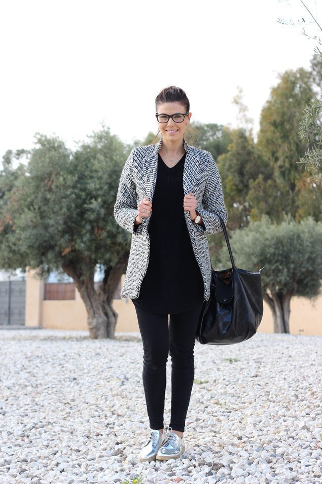 Outfit blanco y negro1