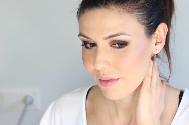Maquillaje suave glamouroso1