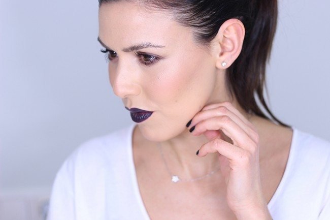 Maquillaje Almost black