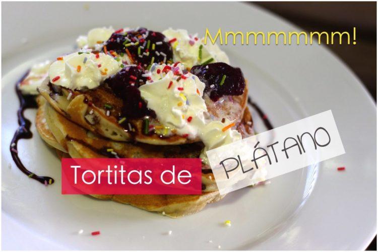 Tortitas de plátano (FÁCIL)