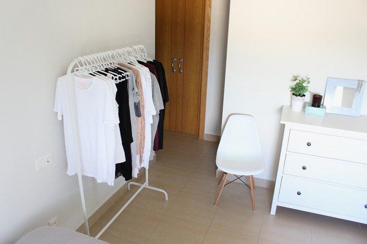 Mi armario se traga la ropa: SOLUCIÓN
