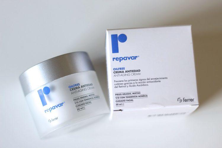 Oil-free crema anti-edad Repavar