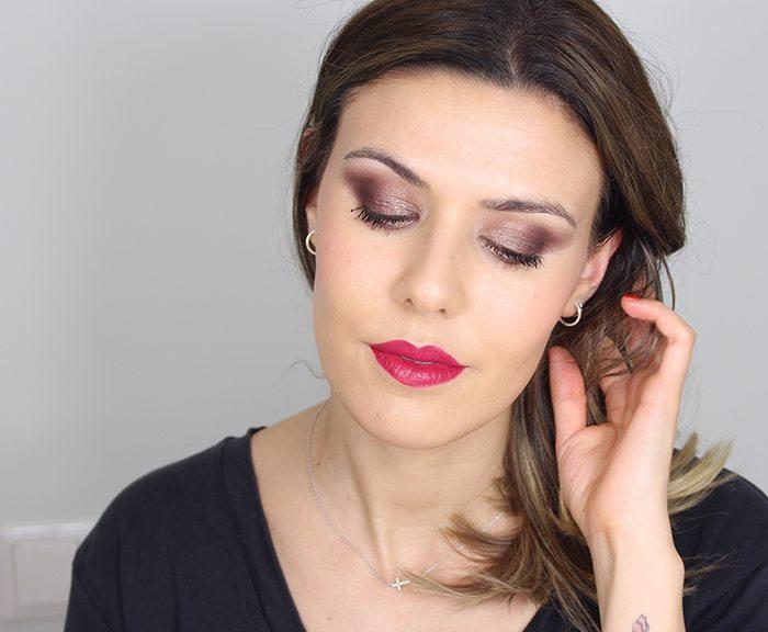 Maquillaje sexy de ojos