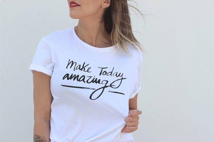 Outfit: «Make Today Amazing»