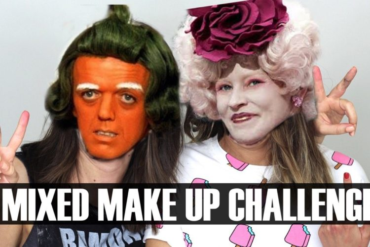 Mixed Makeup Challenge con Esbatt