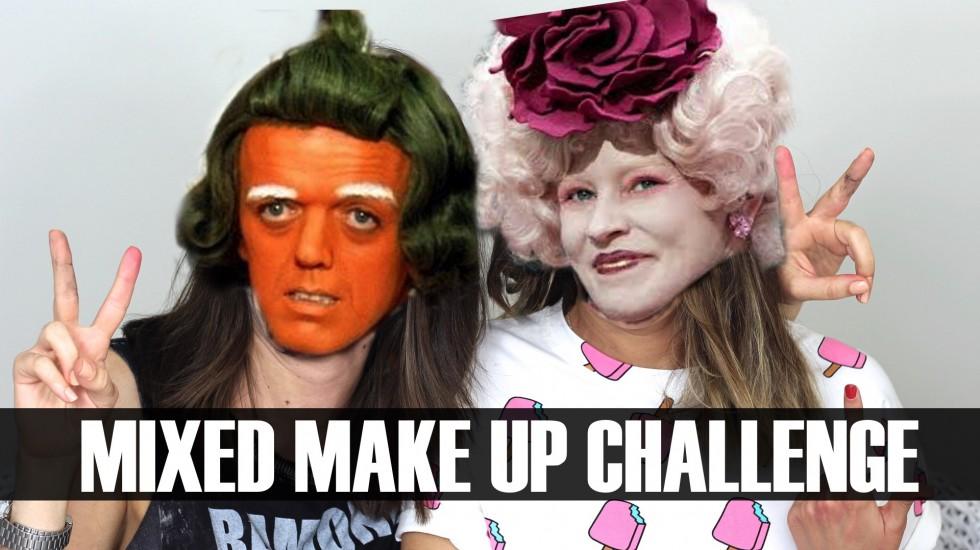 Mixed Makeup Challenge con Esbatt