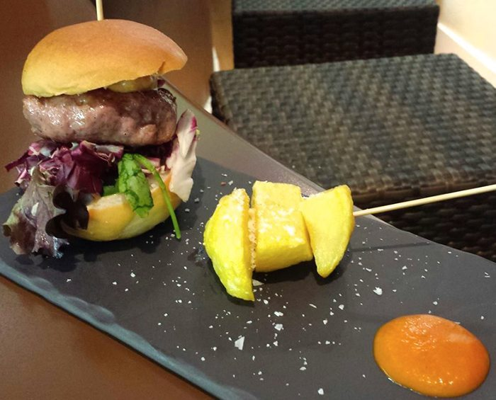 Tapas Alicante hamburguesa