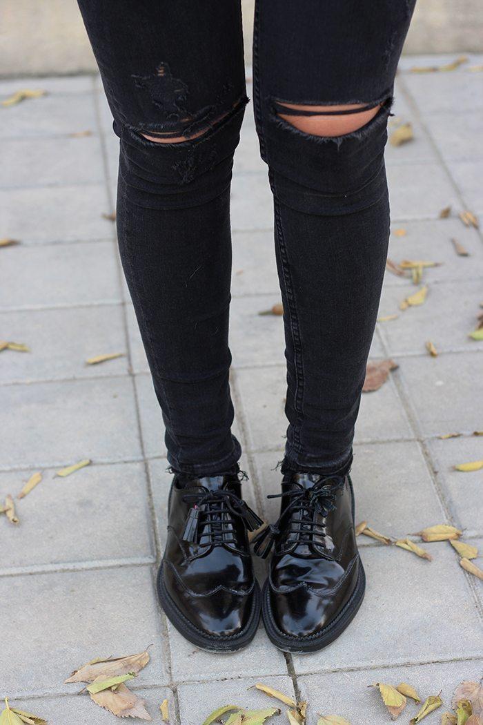 Oxford fashion shoes