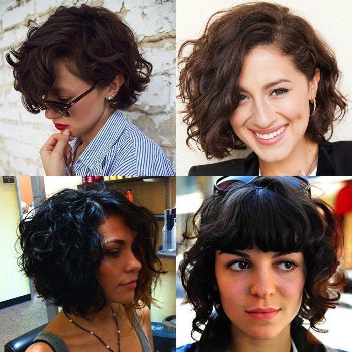BOB STYLE CURLY HAIR