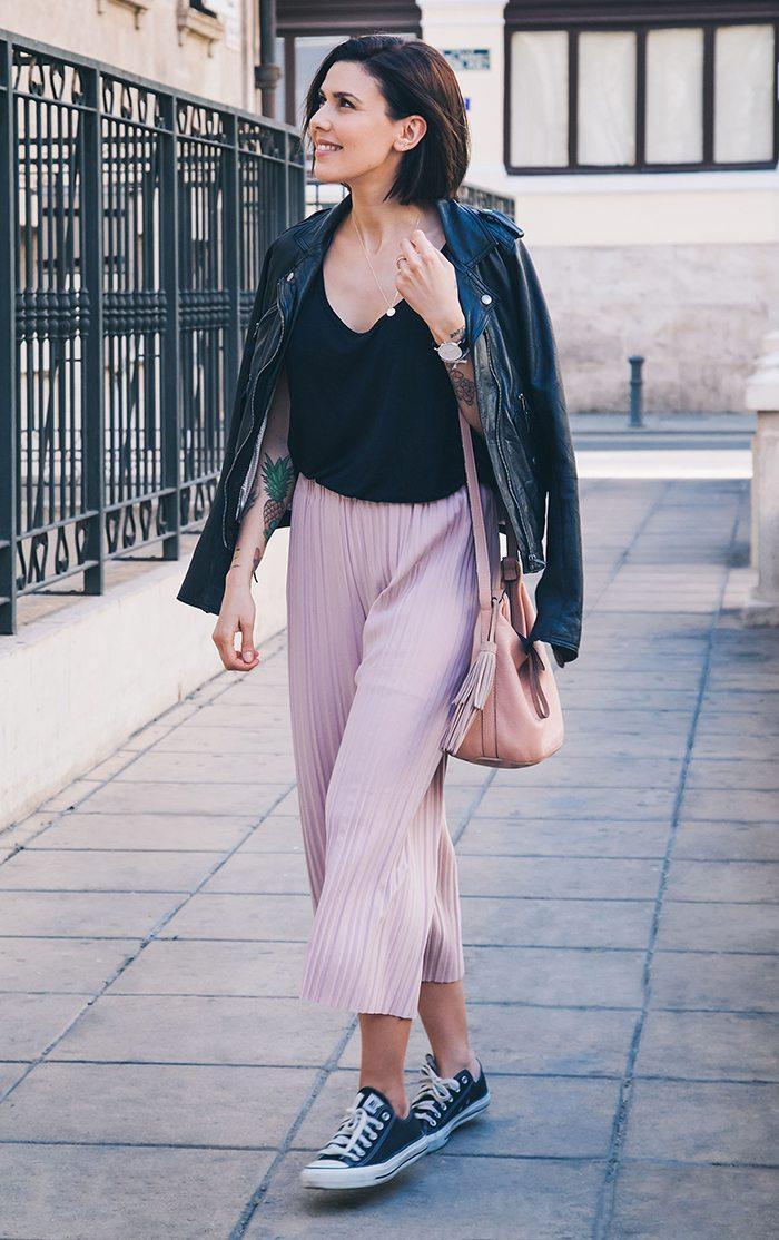 Chupa de cuero outfit