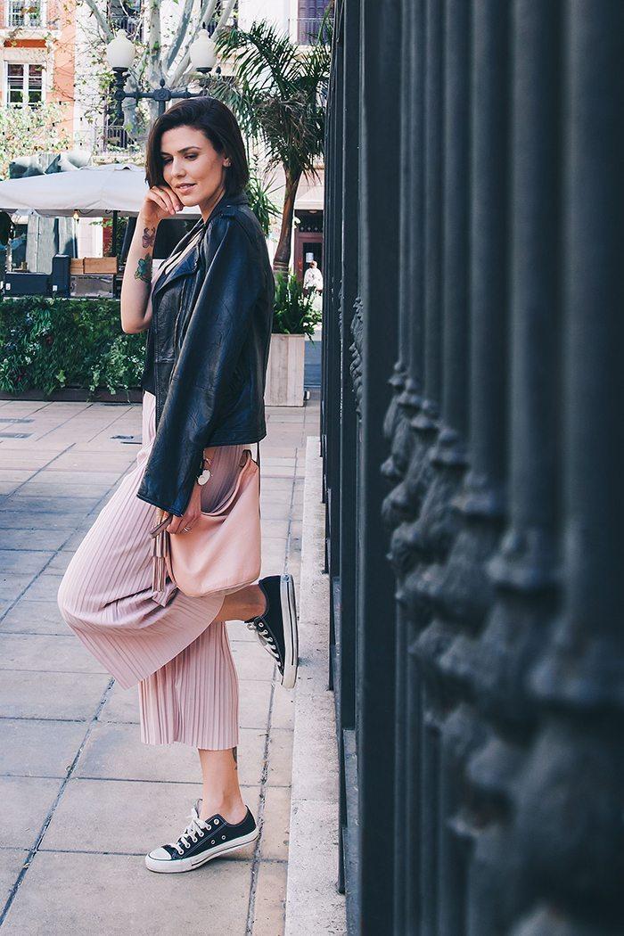 Pantalones culotte outfit
