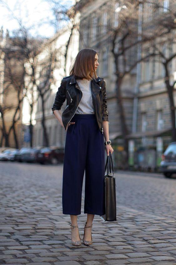 Pantalones culotte