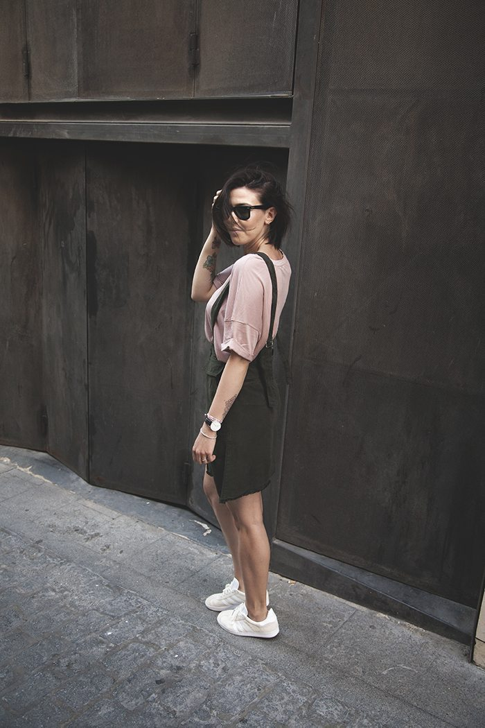 Falda versatil moda