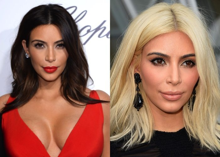 Kim kardashian platino