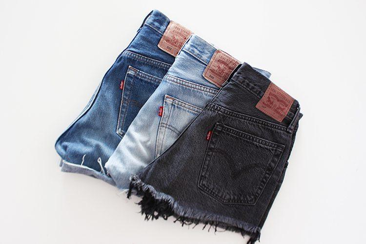 Levis 501: La fiebre de los shorts