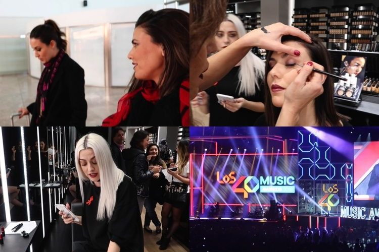 VLOG: Veo en directo a Robbie Williams + Me maquilla Maite Tuset