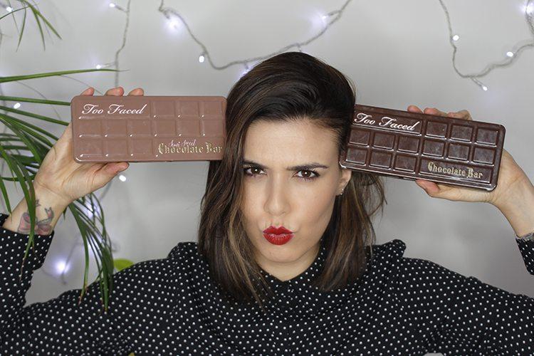 TOO FACED: Chocolate Bar VS Semi Sweet