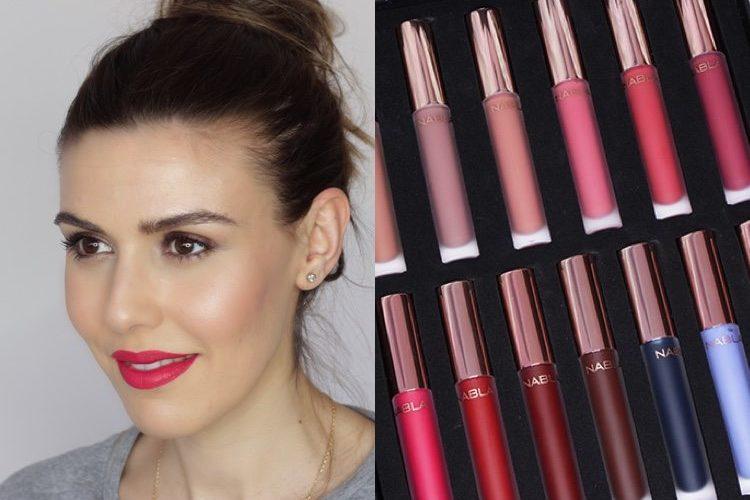NABLA: Matte liquid lipstick swatches