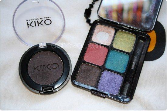 """REVIEW: """"Primer:ojos y labios + sombra 126 de KIKO"""""""
