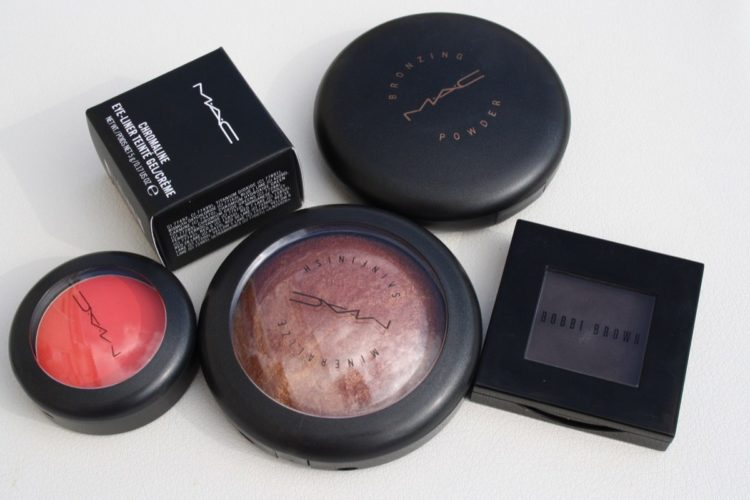 Últimas compras de maquillaje
