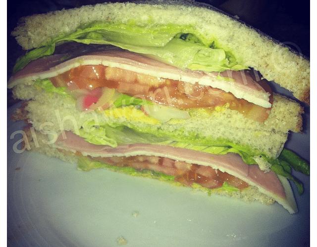 Mi sandwich favorito