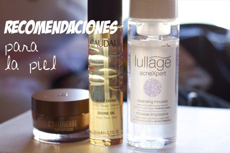 Recomendaciones para la piel