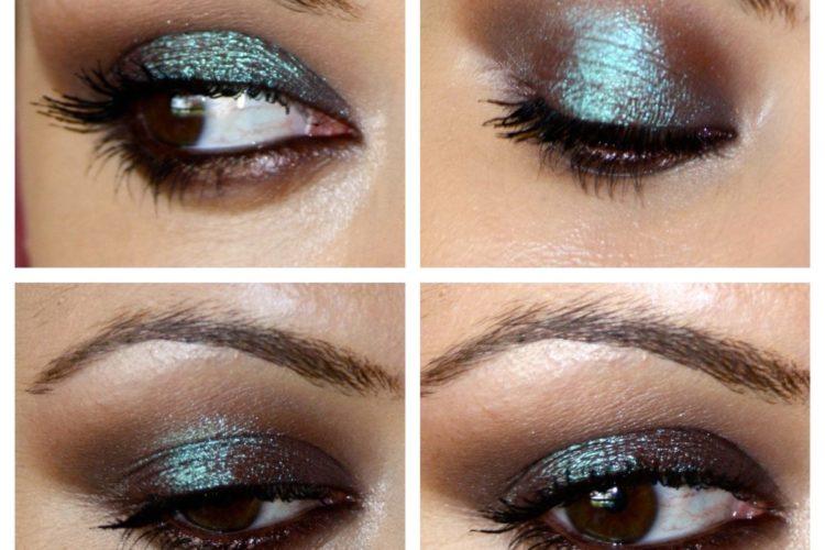 Maquillaje de ojos tornasolado INFO