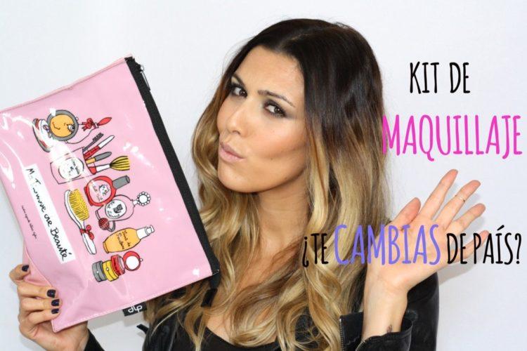 Kit de maquillaje si te vas a vivir a otro país