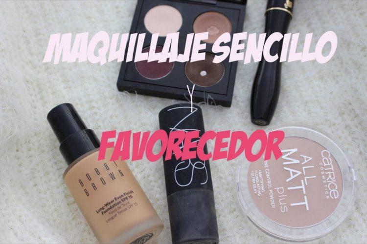 Maquillaje sencillo y favorecedor