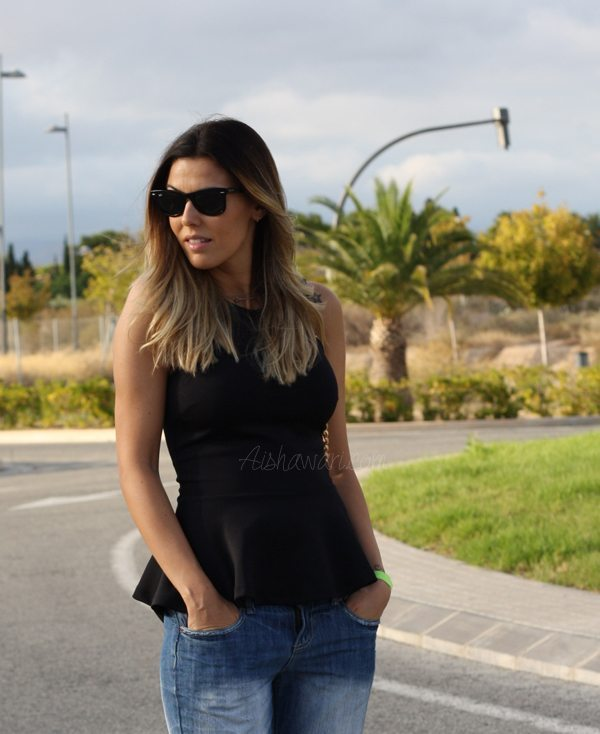 Outfit peplum
