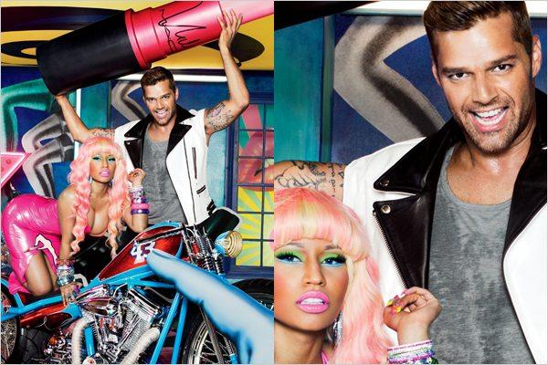 MAC Viva Glam Ricky Martin & Nicki Minaj INFO